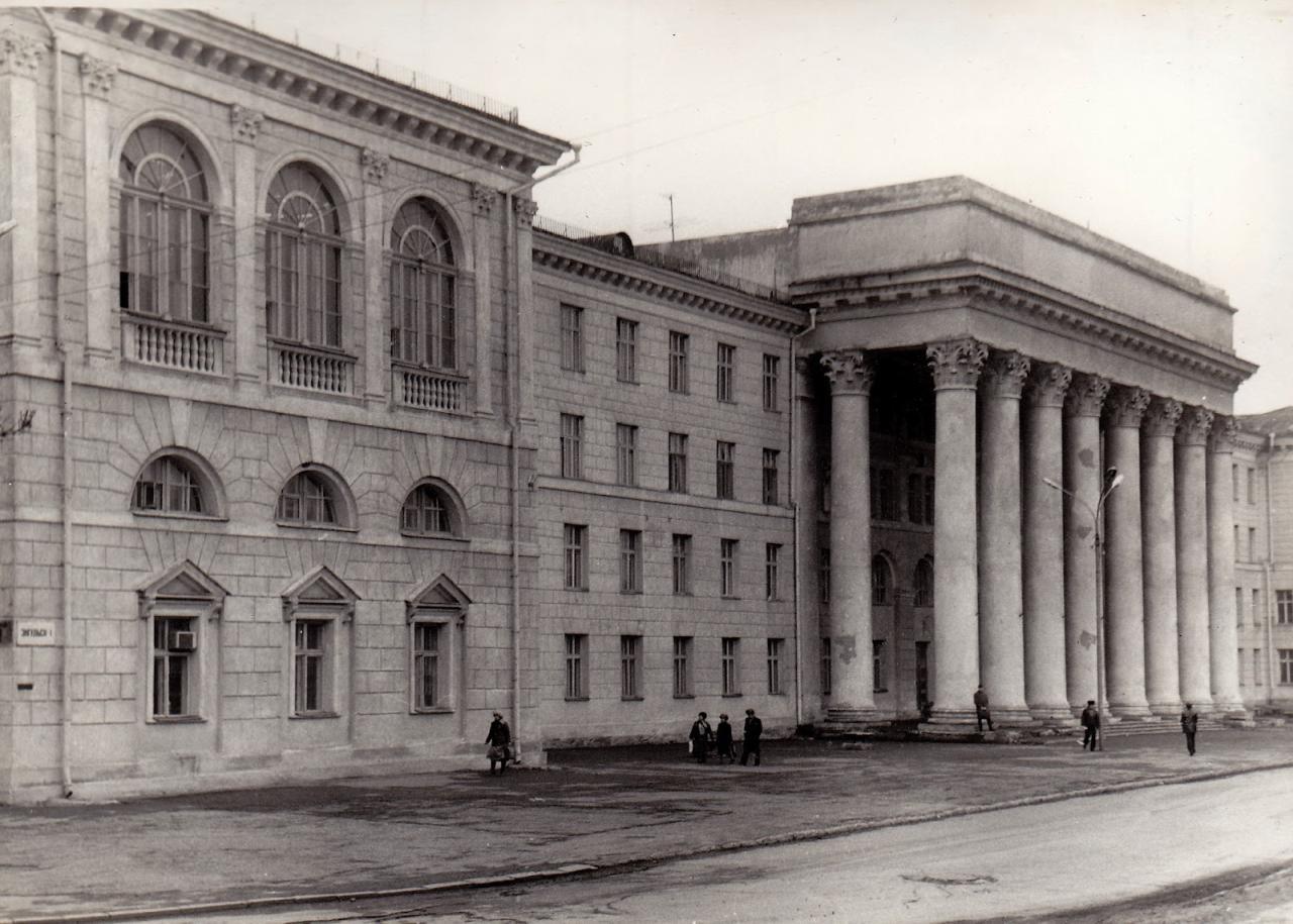 старый корпус Г ТРТИ